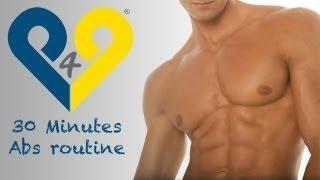 30 minuten Bauchmuskeltraining - Perfekte Bauch