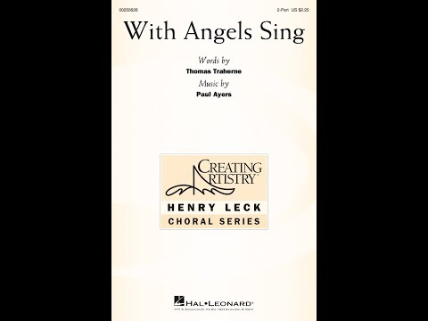 With Angels Sing (2-Part) - Music by Paul Ayres