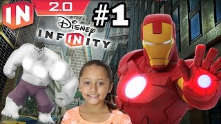 The Avengers Play Set   Part 1 Disney  Nfinity 2.0 Dad And Daughter Commentary