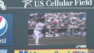 White Sox retire #35 Frank Thomas Part 2