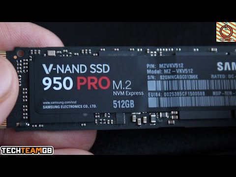 Samsung 950 Pro 512GB nVME SSD Review