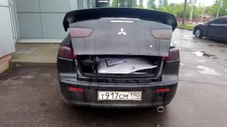 Автооткрывание багажника Лансер Х