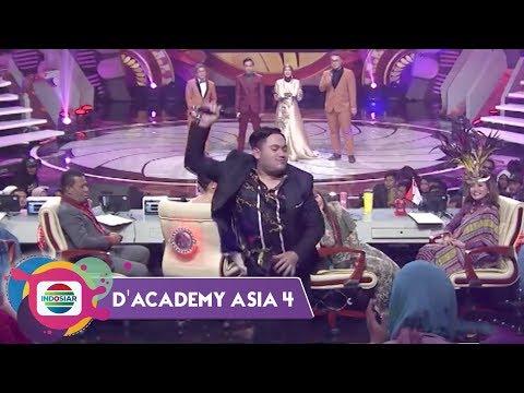 HAHA! Inilah Momen Terlucu Nassar Di Panggung D'Academy Asia 4