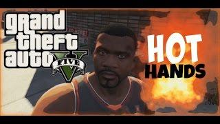 (Gameplay GTA V Maroc ) - PC - HOT HANDS Funny Moments  5 مقاطع مضحكة  حرامي السيارات