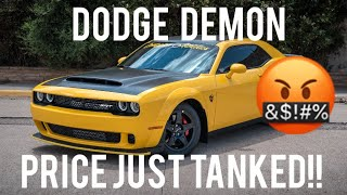 DODGE DEMON OWNERS ARE PISSED!!!!! F**K DODGE!!!