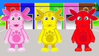 Вчимо кольори англійською мовою разом з Лунтиком