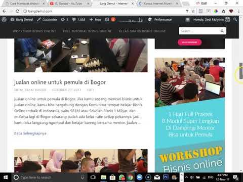 belajar bisnis online di instagram di Bogor - YouTube