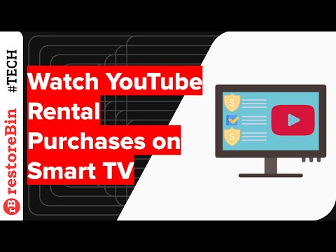Play YouTube Rental Purchases on Smart TV App