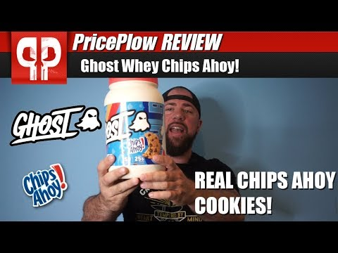 REAL COOKIES! Ghost Lifestyle Whey Protein Chips Ahoy!