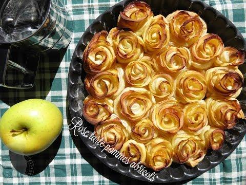 recette-de-la-rose-tarte-pommes-abricot