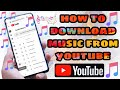 how to youtube to mp3 ll how to download music from youtube ll creative common music, reuse allowed