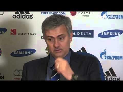 Jose Mourinho on starting Petr Cech...