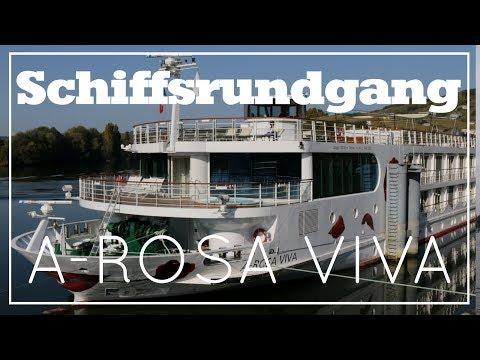 A-ROSA VIVA - Schiffsrundgang - A-ROSA Flusskreuzfahrten