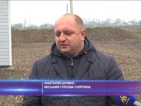 В Снятині упорядкували полігон для захоронення твердих побутових відходів