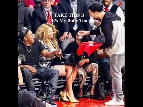 Beyonce Baby Blue Ivy And Drake Illuminati: Beyonce &a...