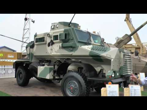 AAD 2016: Casspir weapons mounted system and 6x6 recovery vehicle