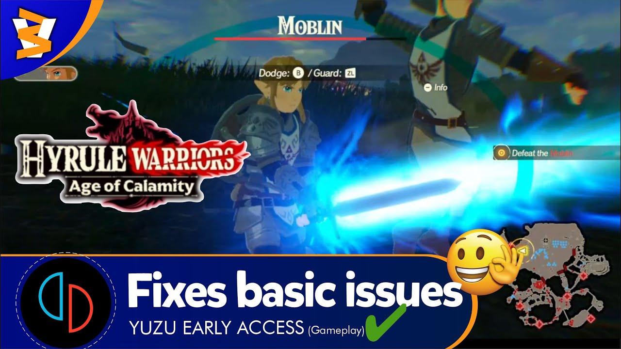 Yuzu Early Access 1123 Opengl Hyrule Warriors Age Of Calamity Ingame Latest Youtube