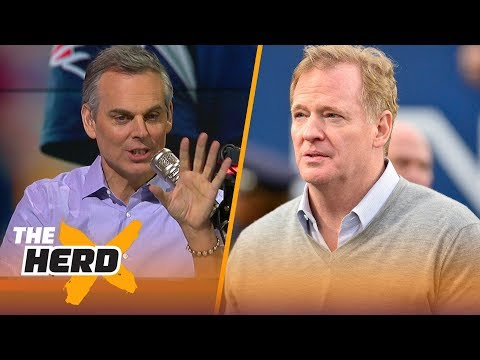 Roger Goodell joins Colin Cowherd ahead of Super Bowl LII | THE HERD