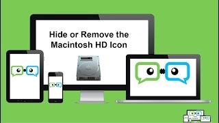 How to Hide or Remove the Macintosh HD Icon from your Desktop