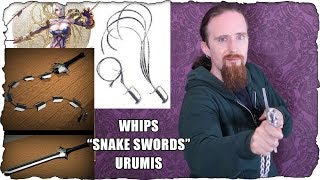 An Unnecessarily In-Depth Discussion of Whip Swords