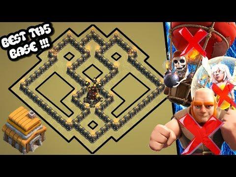 Clash Of Clans Town Hall 5 Defense Base (COC Th5 Base) | Best Th5 Hybrid/Trophy/War/Farming Base