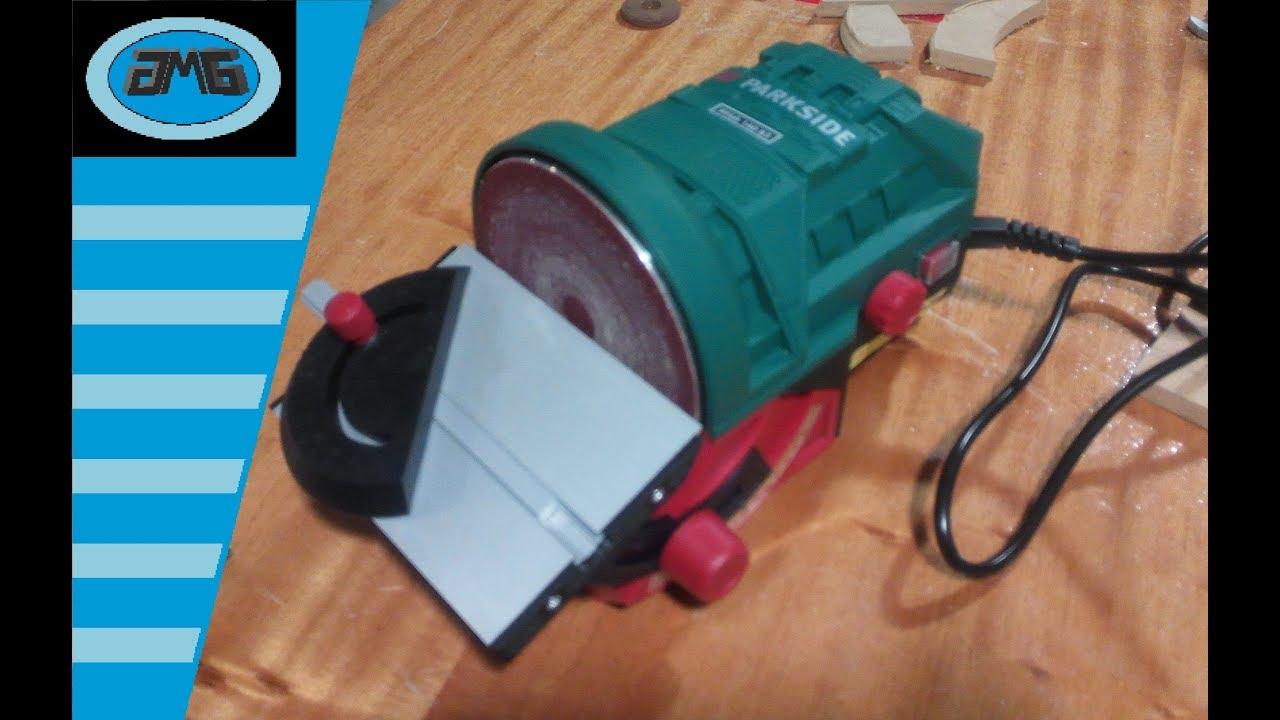 Parkside Ponceuse à Disque Ptsg 140 C2 140 Watt Plaques Meuleuse Machine à Polir