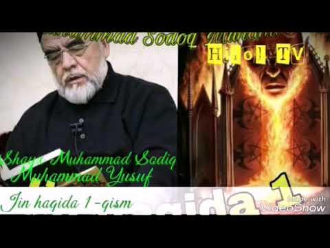 Jin haqida Shayx Muhammad Sodiq Muhammad Yusuf  1-qism