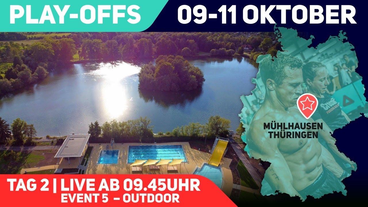 Play-Offs – Fitness Bundesliga 2020 | Outdoor Event