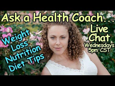 Health Q&A Live Chat With Corrina Rachel, Health Coach   Weight Loss, Diet, Nutrition, Wellness!