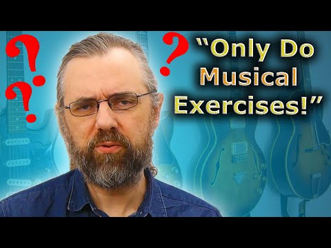 That's Not A Musical Exercise,  I don't Like it!