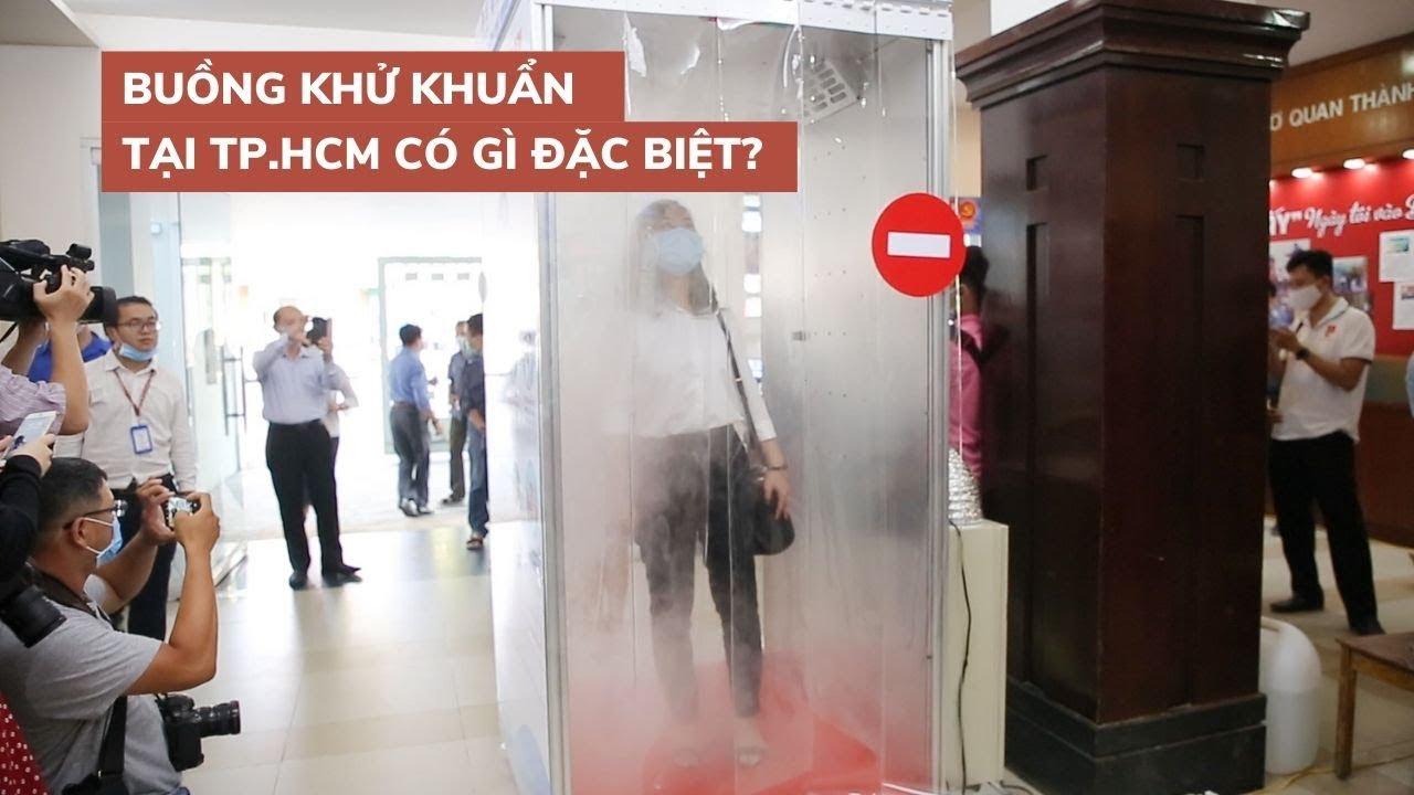 Buồng khử khuẩn của TP.HCM khác gì với Hà Nội, được đặt ở đâu?