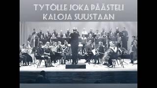 Haloa-kuoro ja orkesteri (joht. Kaapo Ijas): Tytölle joka päästeli kaloja suustaan (säv. Siljamäki)