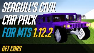 How to get Transport Simulator Packs [MTS packs] in Minecraft 1.12.2 - Seagull's civil car pack