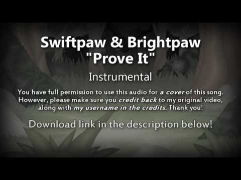 "[Instrumental] ""Prove It"" Swiftpaw & Brightpaw (Original Warrior Cats Song)"