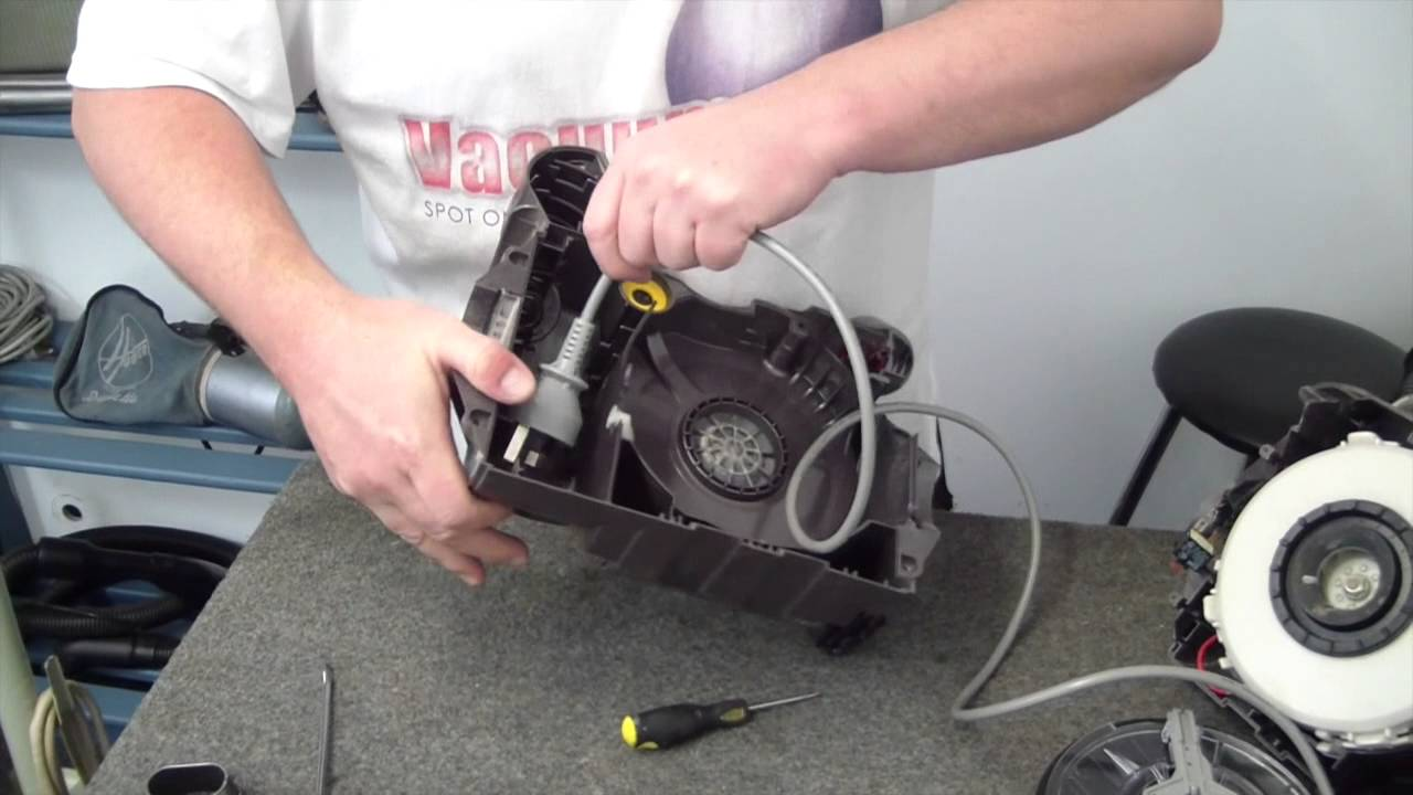 How To Replace A Dyson Dc19 Cord Retract Unit