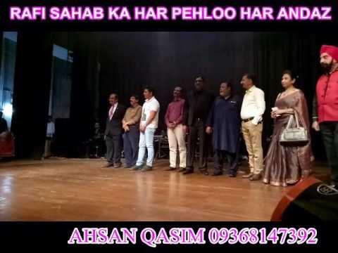 MOHAMMED RAFI RATNA AWARD FOR AHSAN QASIM IN DELHI