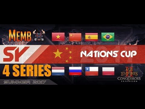 CRAZY Nations Cup Marathon Round of 32 -  4 Full Series