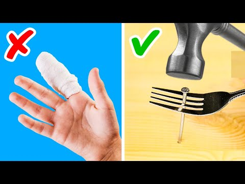 34 KITCHEN DIYS WITH CUTLERY    Forks, Spoons and Cups Surviving Hacks by 5-Minute Recipes!