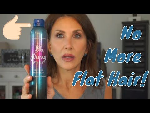 How to Cover Rosacea with Makeup & Not Look Cakey   Keep Hair from Going Flat thumbnail