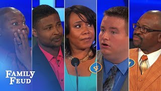 "ALL-TIME GREATEST MOMENTS in Family Feud history!!! | Part 7 | TOP 5 ""Good answer! Wait... WHAT?"""