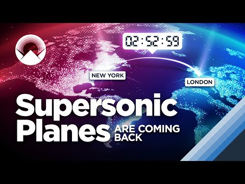 Supersonic Planes are Coming Back (And This Time, They Might Work) - Wendover Productions