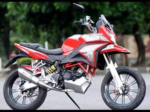 Cah Gagah | Video Modifikasi Motor Honda CS1 Supermoto Adventure Keren Terbaru