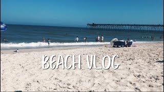 beach vlog!!   johanna