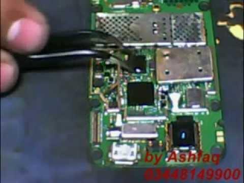 nokia 6600s power ic replasd without rebaling