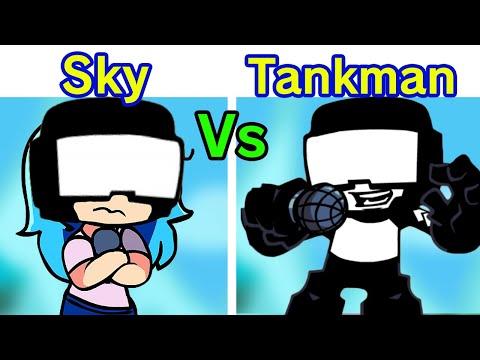 Friday Night Funkin' - Sky VS Tankman (Duet Ugh Song) [FNF Week 7]