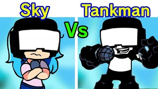 Friday Night Funkin' - Sky VS Tankman (Duet Ugh Song) [FNF Week 7]