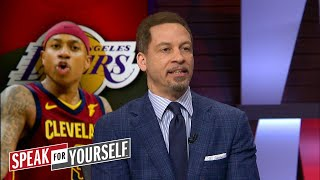 Chris Broussard on reports Isaiah Thomas could seek a buyout in Los Angeles | SPEAK FOR YORUSELF