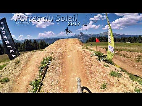 MORZINE - Portes du Soleil 2017 re-live PdS#03 -subtitled-