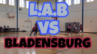 12/9/17 - Team L.A.B. vs Bladensberg Rec - Coach Dayal - Marvin Guthrie