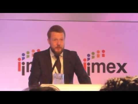 Mr Matthias Schultze @ IMEX 2016 FRANKFURT - MICE CHANNEL - www.MICEmedia-online.biz
